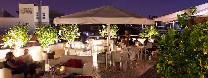Setè Cel terrace Hotel America