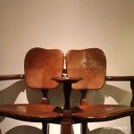 chairs designed by Antoni Gaudi