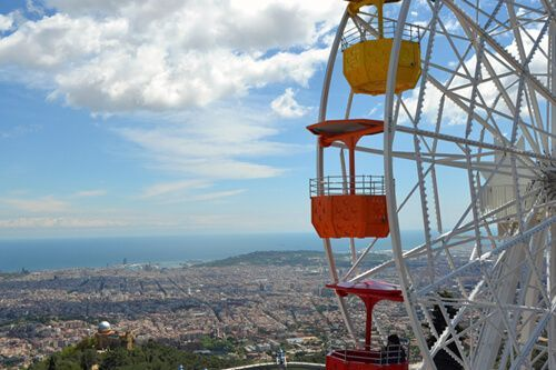 purchase Tibidabo Amusement Park tickets