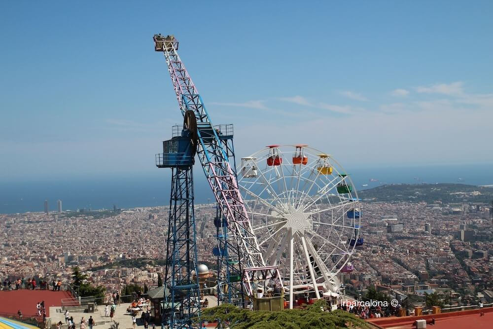 Tibidabo Amusement Park Barcelona Attractions Ticket online  irBarcelona