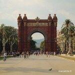 Arc de Triomf passeig Lluís Companys
