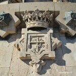 shield Christopher Columbus monument