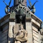 sculptures Christopher Columbus monument