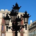 lamppost Plaça Sant Jaume