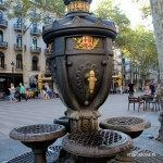 Canaletes Fountain