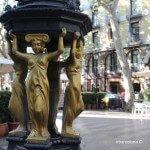 fountain La Rambla
