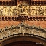 details Arc de Triomf
