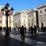 couple Plaça Sant Jaume