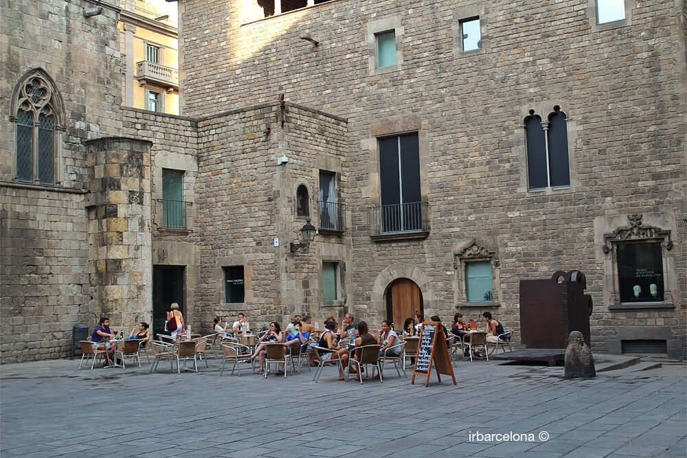 terrace Plaça del Rei