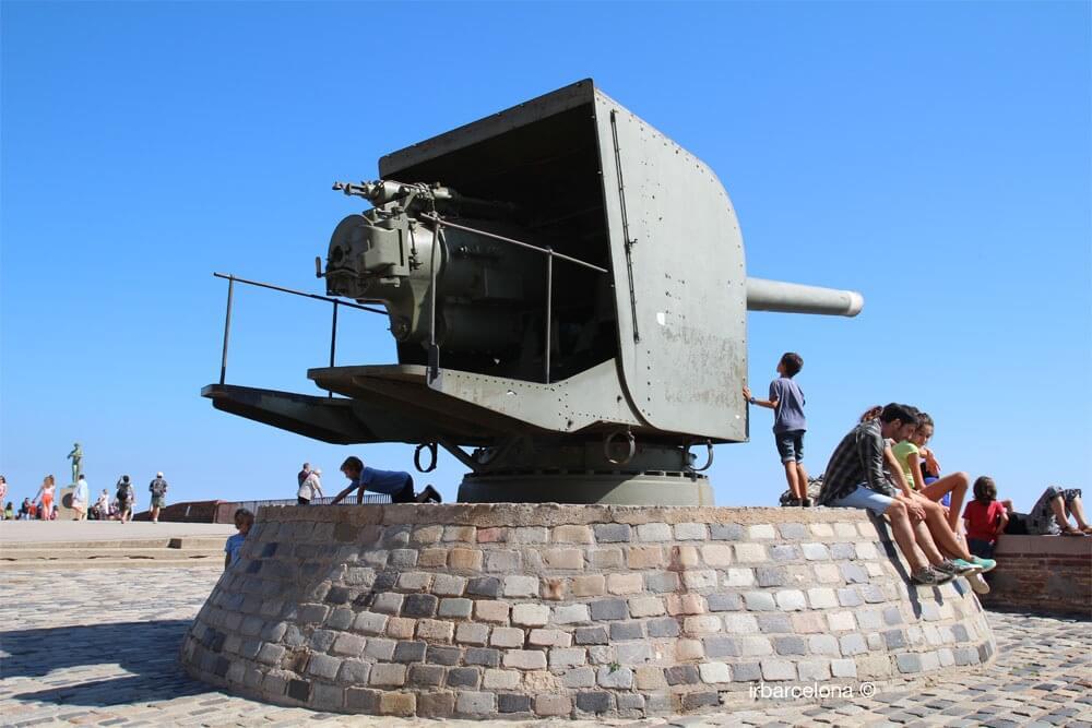 artillery Montjuïc Castle
