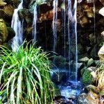 waterfall Parc del Laberint d'Horta