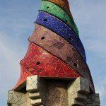 chimney Palau Güell
