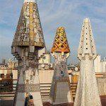 chimneys Palau Güell