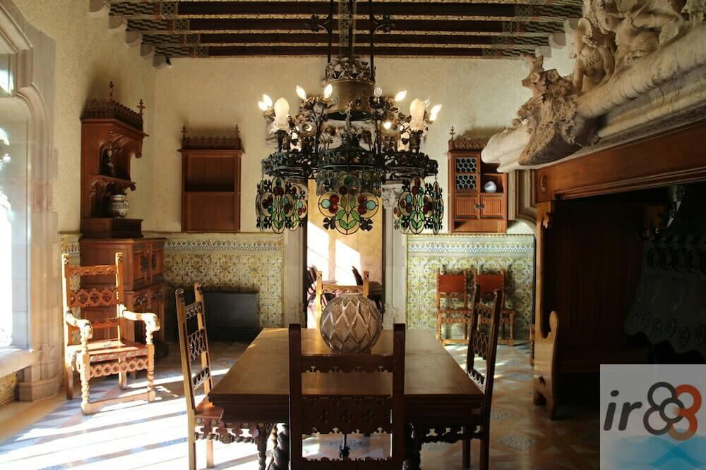 dinning room Casa Amatller