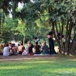 party at Parc de la Ciutadella