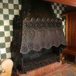 fireplace Casa Amatller