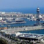 Barcelona coast