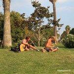 music at Parc de la Ciutadella