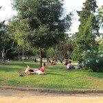 break at Parc de la Ciutadella