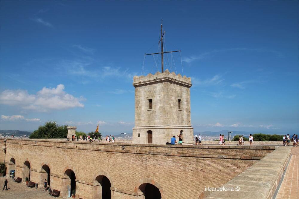 Montjuïc Castle tower