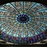glazed dome
