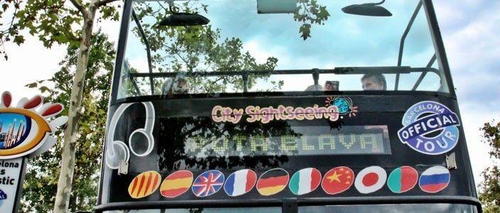 Barcelona tourist bus tour