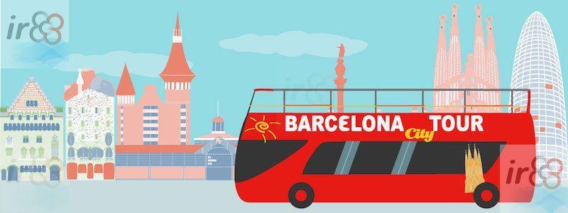 Hop on Hop off Sightseeing Barcelona City Tour