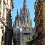 Barcelona Cathedral views