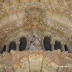 Temple facade details