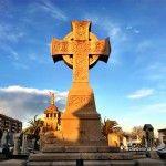 cross Poblenou cemetery