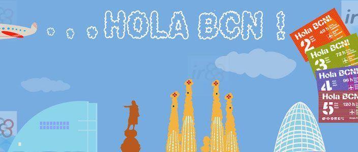 Hola BCN! Barcelona Transport Card