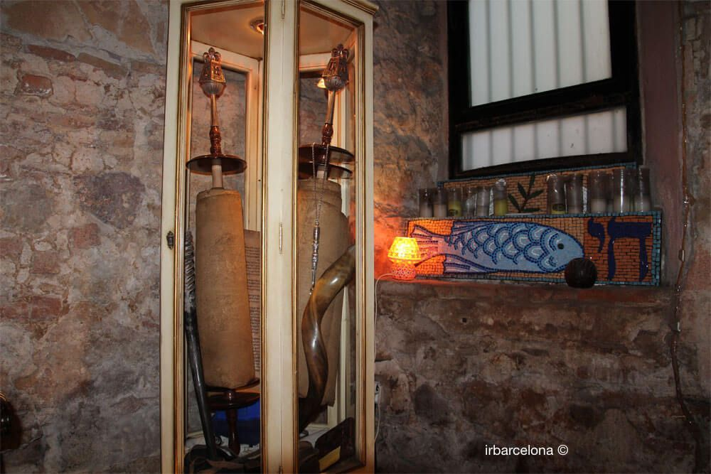 ancient synagogue Torah