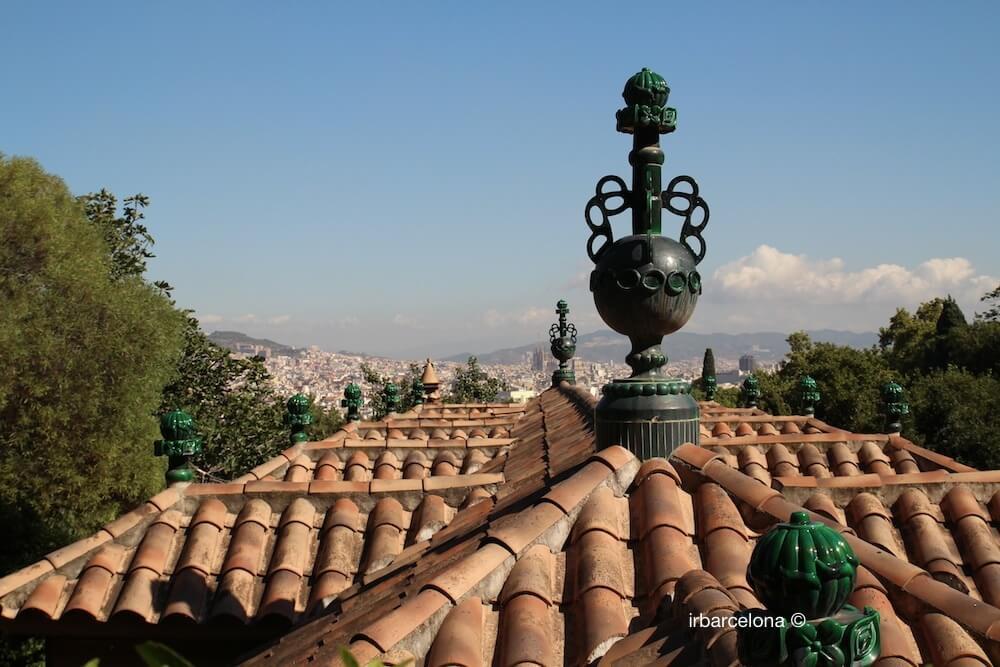 roof Font del Gat restaurant