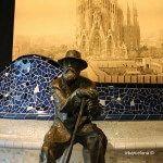 sculpture Antoni Gaudí
