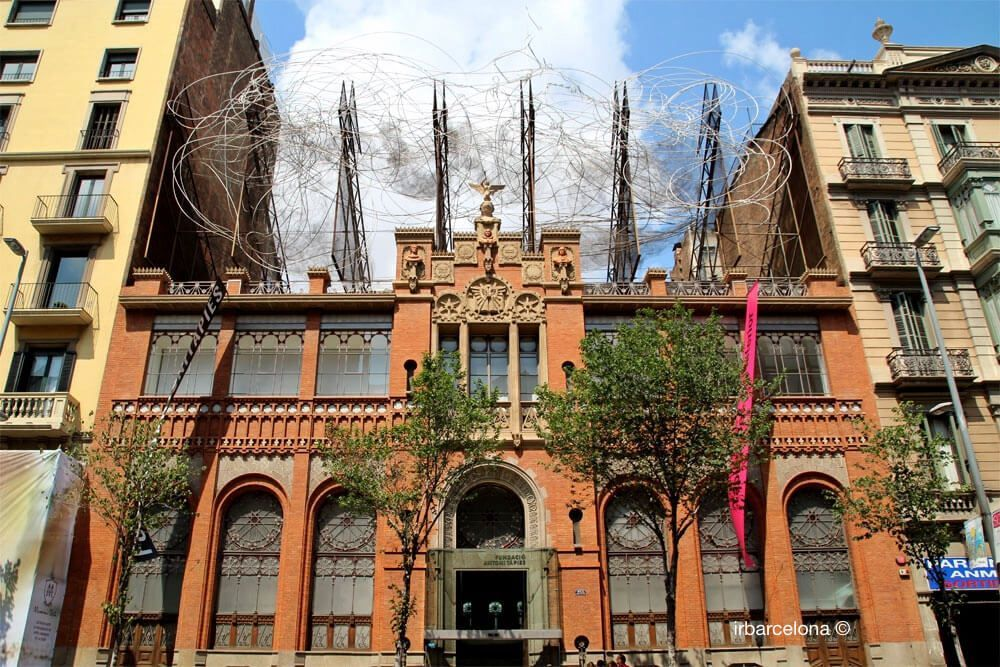façade Fundació Antoni Tàpies