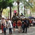 festive atmosphere Rambla del Raval
