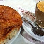 croissant and coffee Granja La Pallaresa