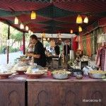 Arabic tea stall