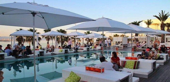 Barcelona's terrace hotels