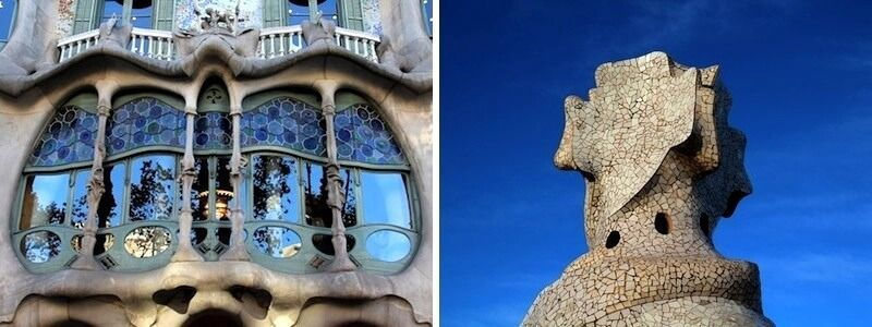Casa Batlló and Casa Milà