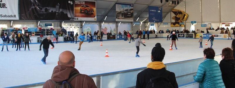 Barcelona Ice rink