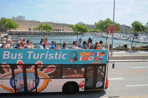 Tourist bus trip