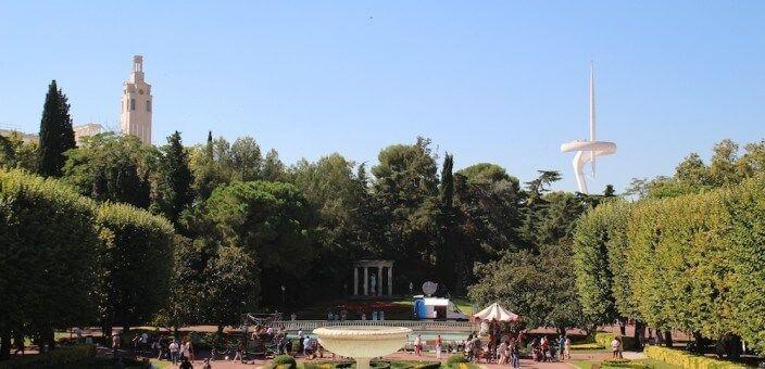 Joan Maragall gardens