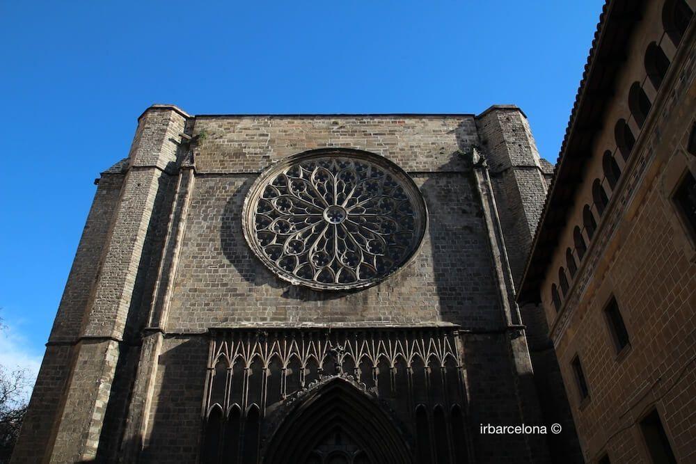 facade Santa Maria del Pi