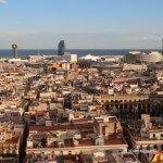 Coast of Barcelona views