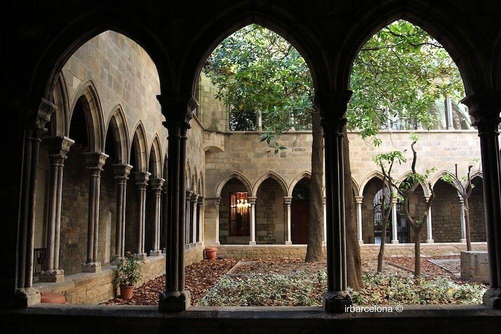 cloister Santa Anna church