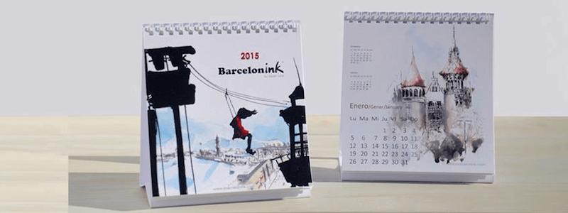 Barcelonink 2015 calendar