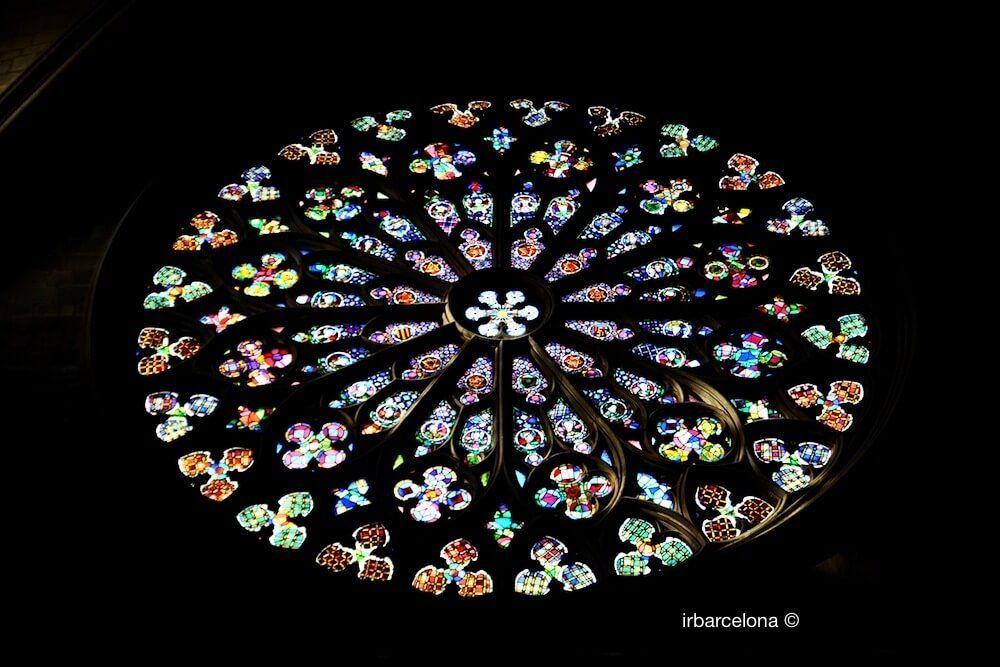 Rose Window Santa Maria del Pi