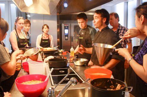 Boqueria Market + Paella Cooking Workshop