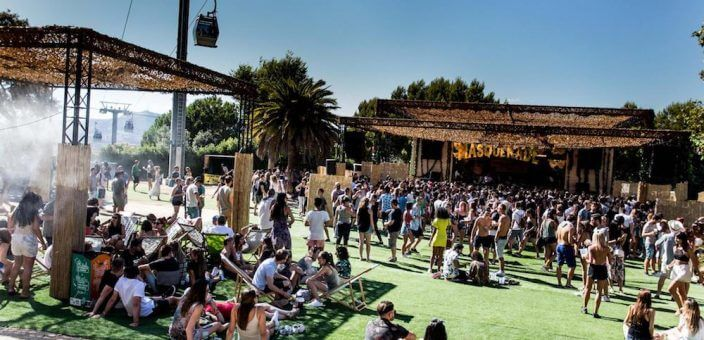 Electronic music Brunch -in the Park -in the City